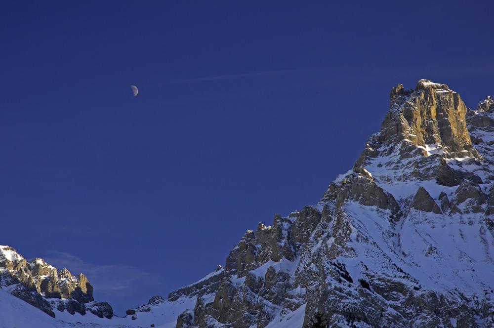 Bergpanorama im Bondertal (Adelboden/Schweiz)