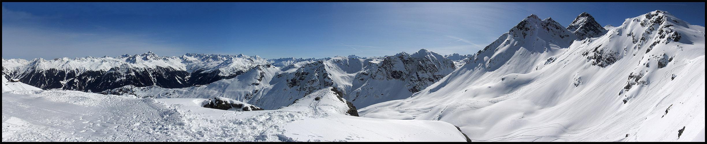Bergpanorama - Montafon 2009
