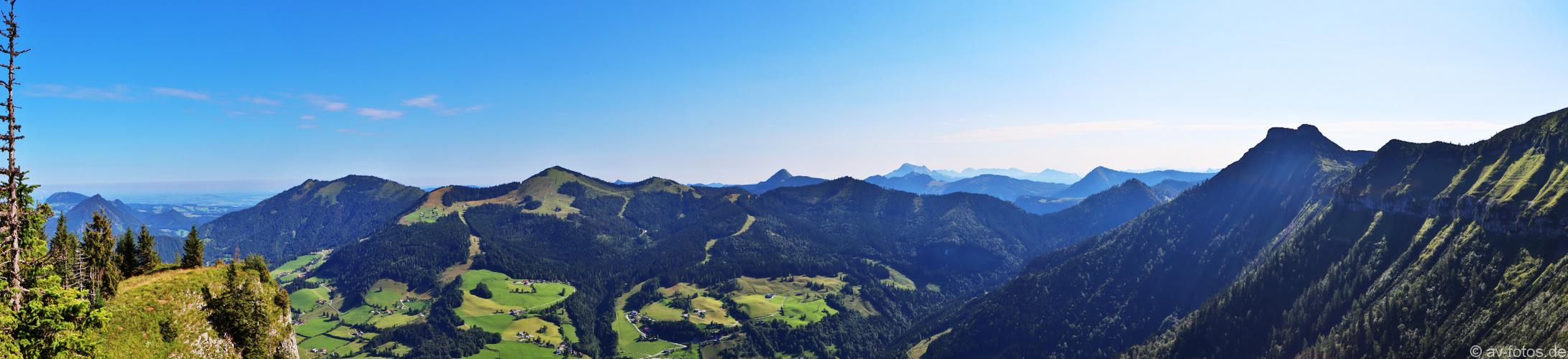 Bergpanorama Schmittenstein