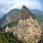 Bergpanorama südlich von Tal