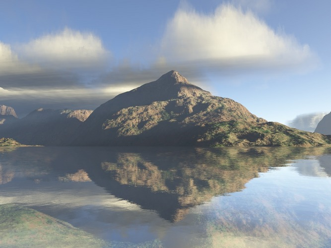 Bergsee; echt oder nicht ?