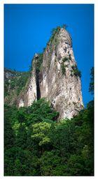 Bergspitze in Yandangshan