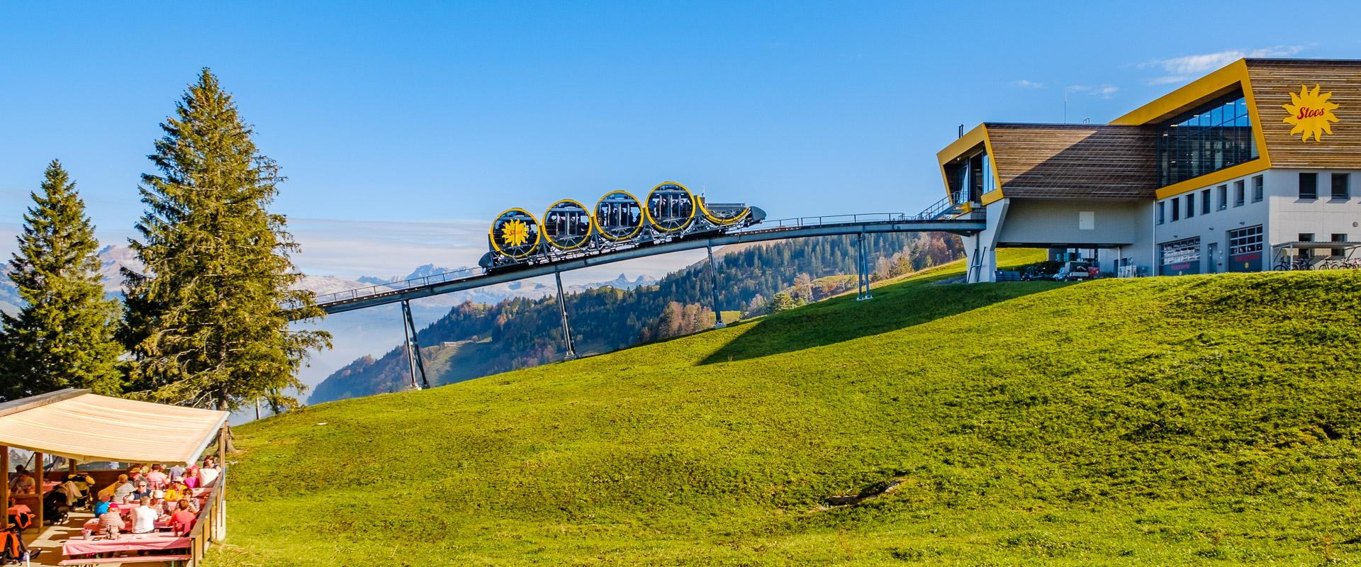 Bergstation neue Stoosbahn