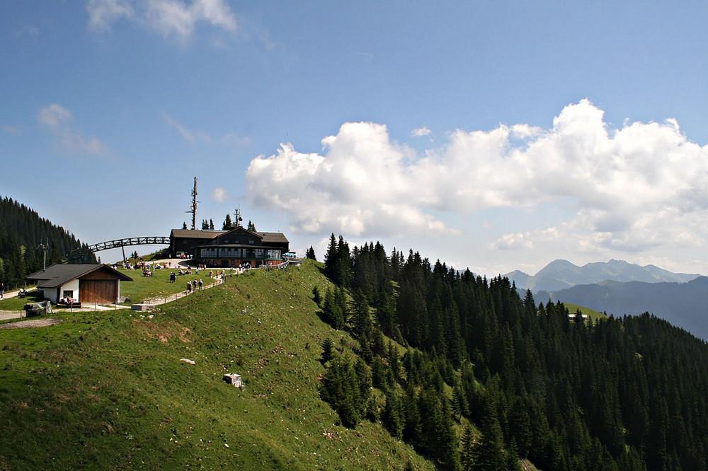 Bergstation Wallbergbahn