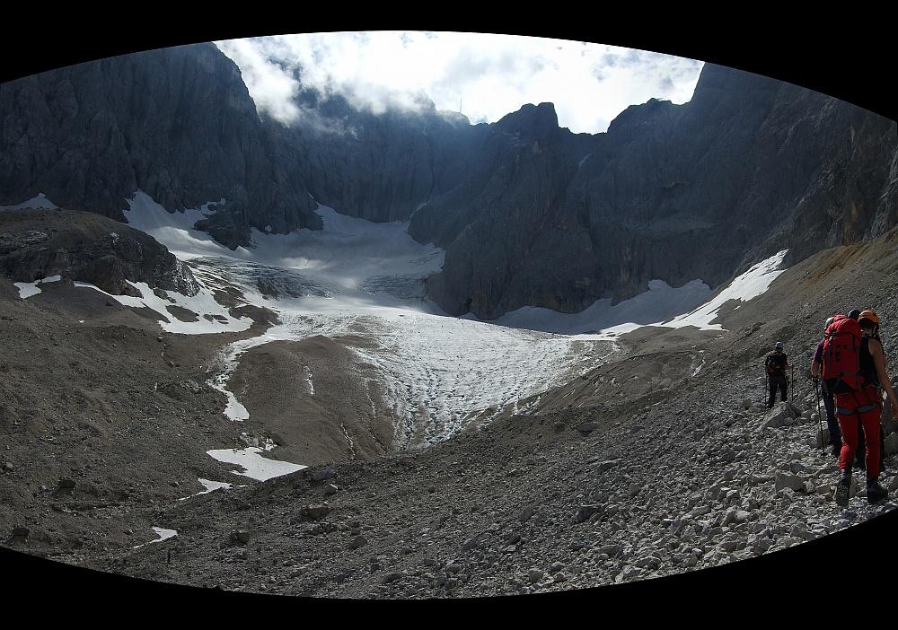 Bergsteigen auf der Zugspitz 09