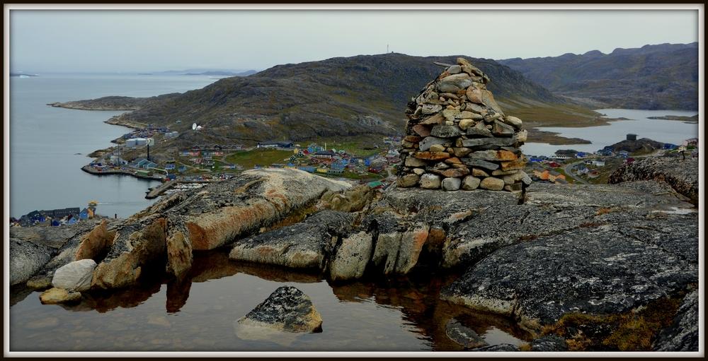 Bergsteigen ....Grönland Qaqortoq