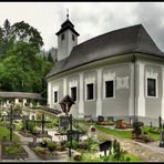 Bergsteigerfriedhof in Johnsbach
