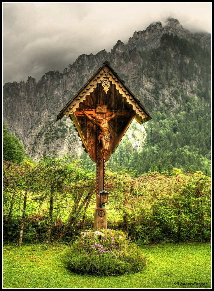Bergsteigerfriedhof in Johnsbach II
