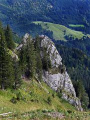 """Bergtour Grünten auf ca. 1500m"""