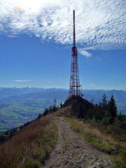 """""""Bergtour Grünten mit Blick auf den bayrischen Rundfunkturm"""""""
