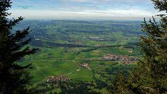 """Bergtour Grünten mit Blick ins Alpenvorland"""
