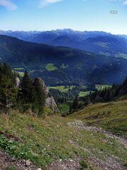 """""""Bergtour Grünten mit Weitblick beim Abstieg"""""""