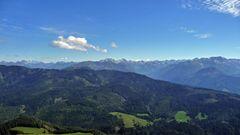 "'""Bergtour Grünten mit Weitblick in Richtung Tirol"""