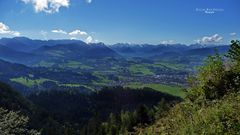 """'""""Bergtour Grünten mit Weitblick über Sonthofen bei ca. 1200m"""""""