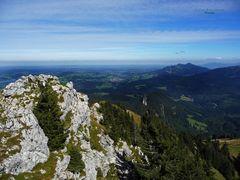 """""""Bergtour Grünten mit Weitblick vom Übelhorn 1735m"""""""