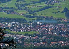 "'""Bergtour Grünten Talblick auf Sonthofen aus ca. 1300m"""