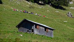"""""""Bergtour Grünten Wandergruppe 1"""""""