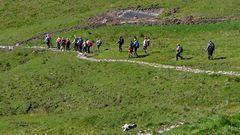 """""""Bergtour Grünten Wandergruppe 3"""""""