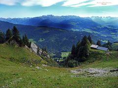 """Bergtour Grünten Weitblick am alten Bauernhof"""