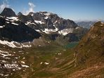 Bergtour zum Chaiserstuel - Blick ins Grosstal
