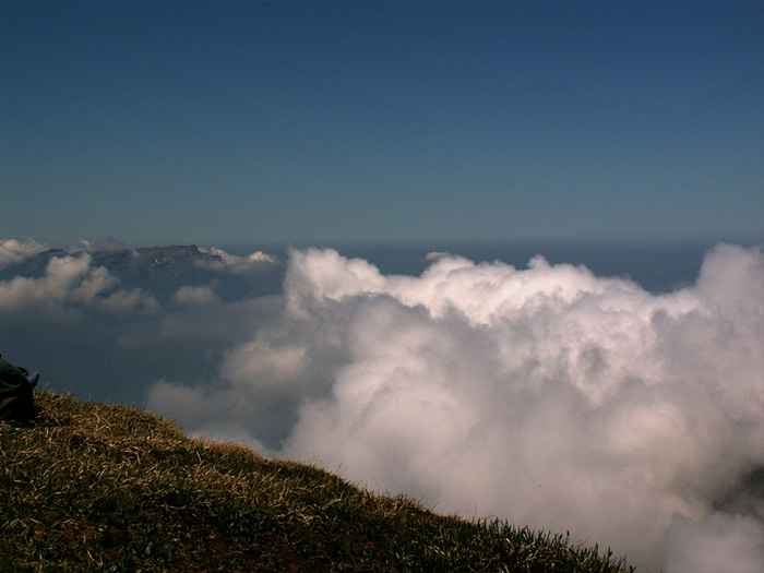 Bergtour zum Chaiserstuel - Über den Wolken