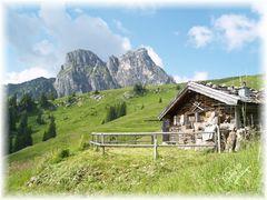 Bergwachthütte Pfronten mit Aggenstein