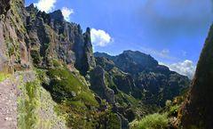 Bergwandern auf Madeira...