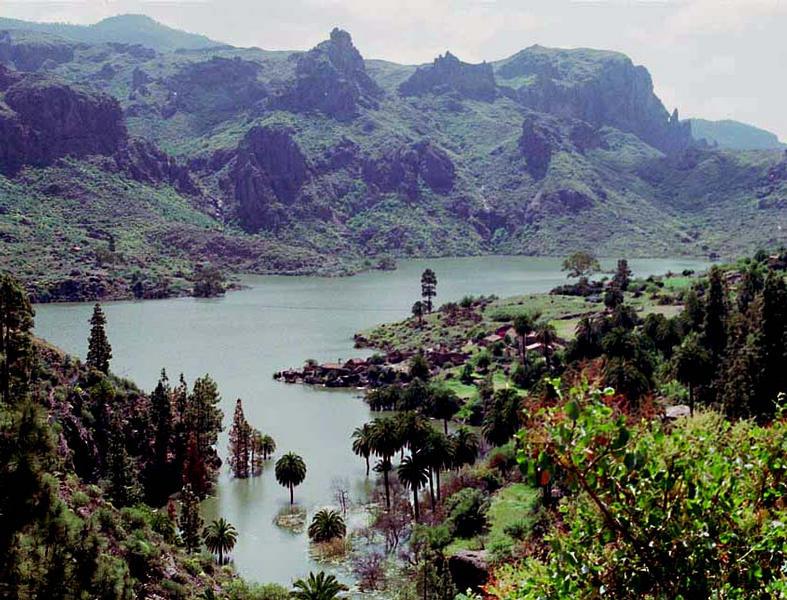 Bergwelt von Gran Canaria,