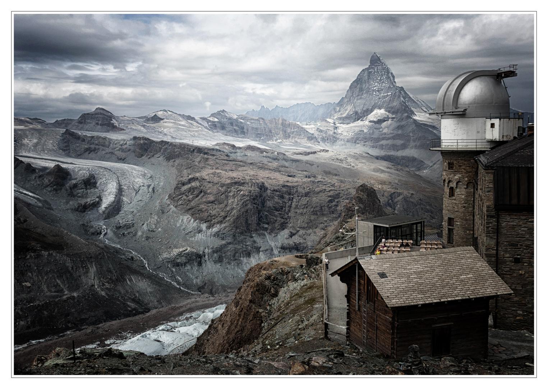Bergwelten  - Blick vom Gornergrat zum Matterhorn