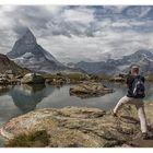 Bergwelten - Motiv(ation) Riffelsee und Matterhorn