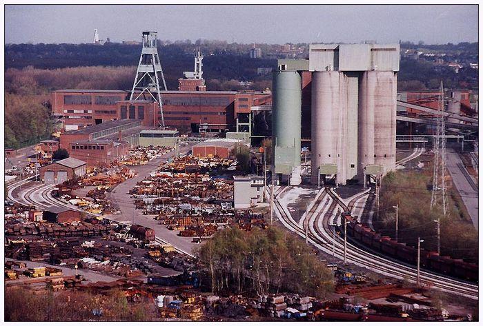 Bergwerk EWALD im Mai 1998