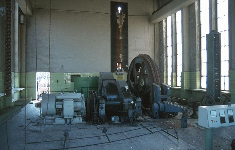 Bergwerk Ost, Fördermaschine Humbert