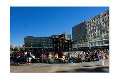 Berlin Alexanderplatz - Brunnen der Völkerfreundschaft