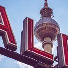 Berlin - Alexanderplatz / Fernsehturm