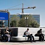 Berlin - Alexanderplatz - Verschnaufpause