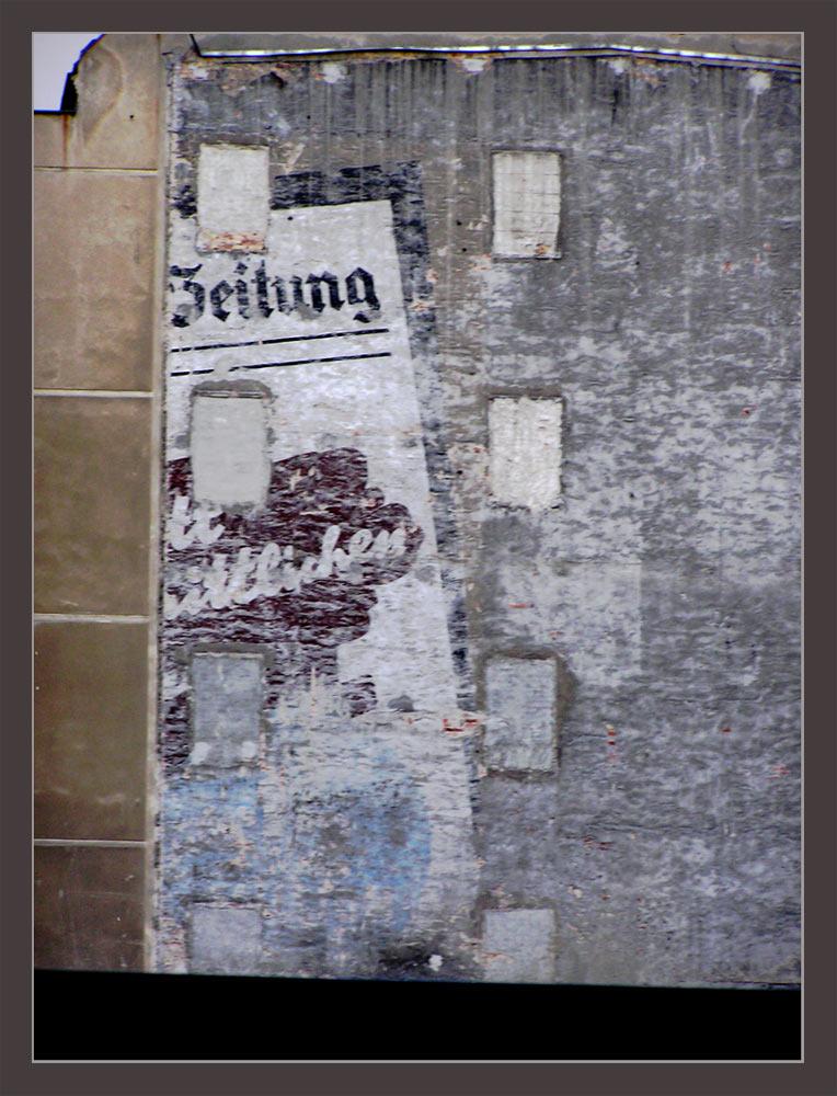 Berlin - alte Zeitungsreklame