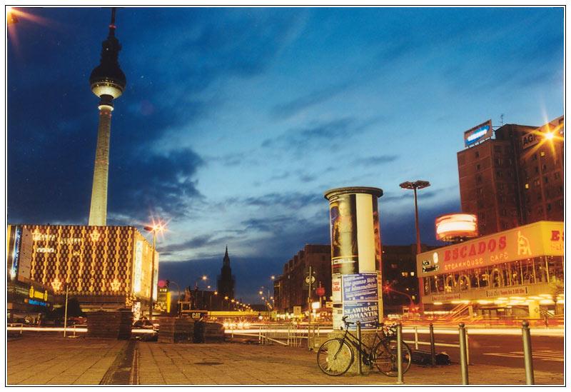 Berlin - am Alexanderplatz