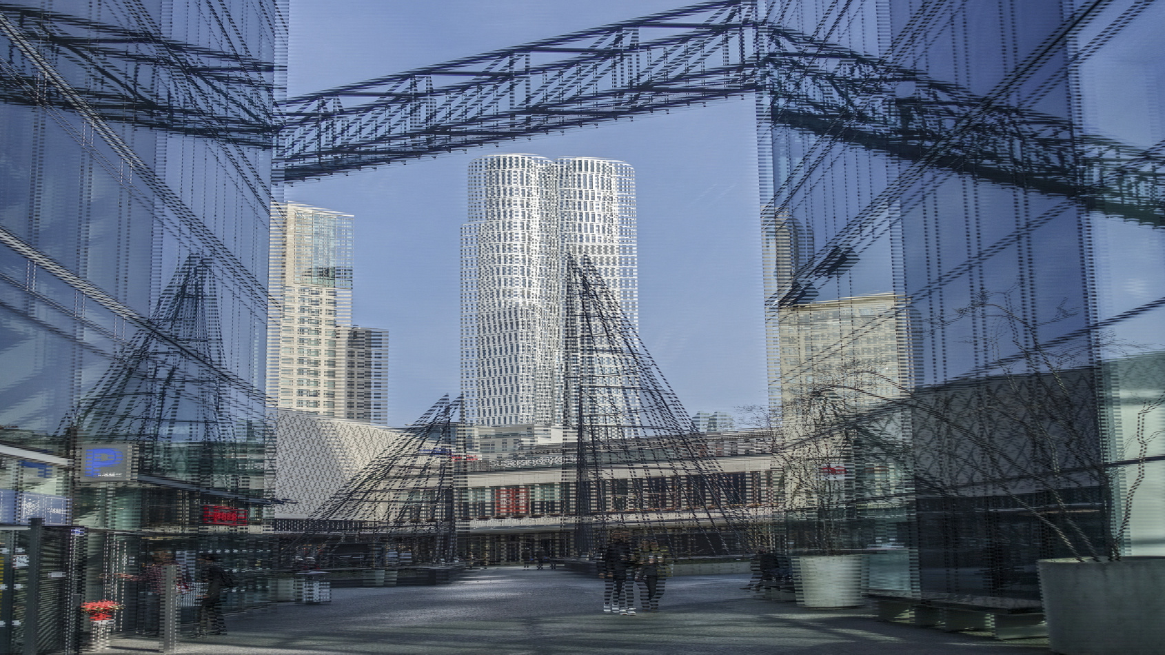 Berlin am Kranzler Eck 4 (3D)