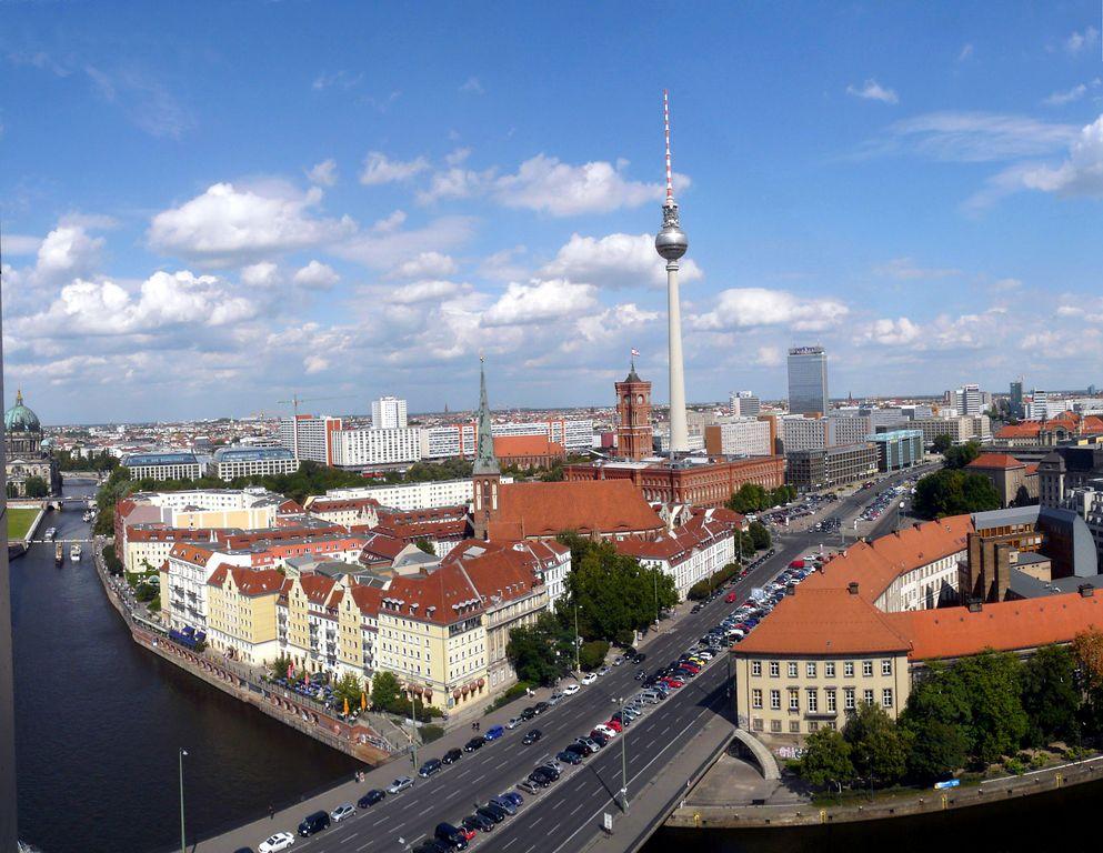 berlin ansicht von oben foto bild deutschland europe berlin bilder auf fotocommunity. Black Bedroom Furniture Sets. Home Design Ideas