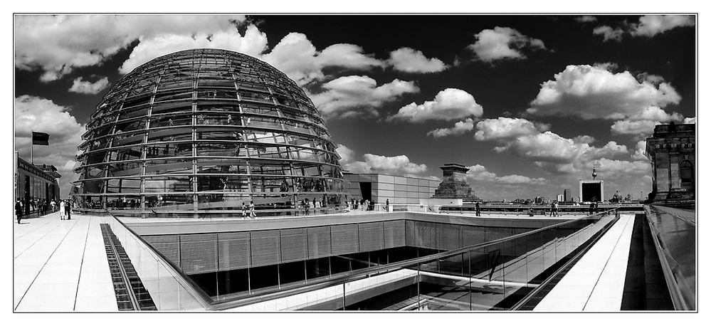 Berlin - Auf dem Reichstag