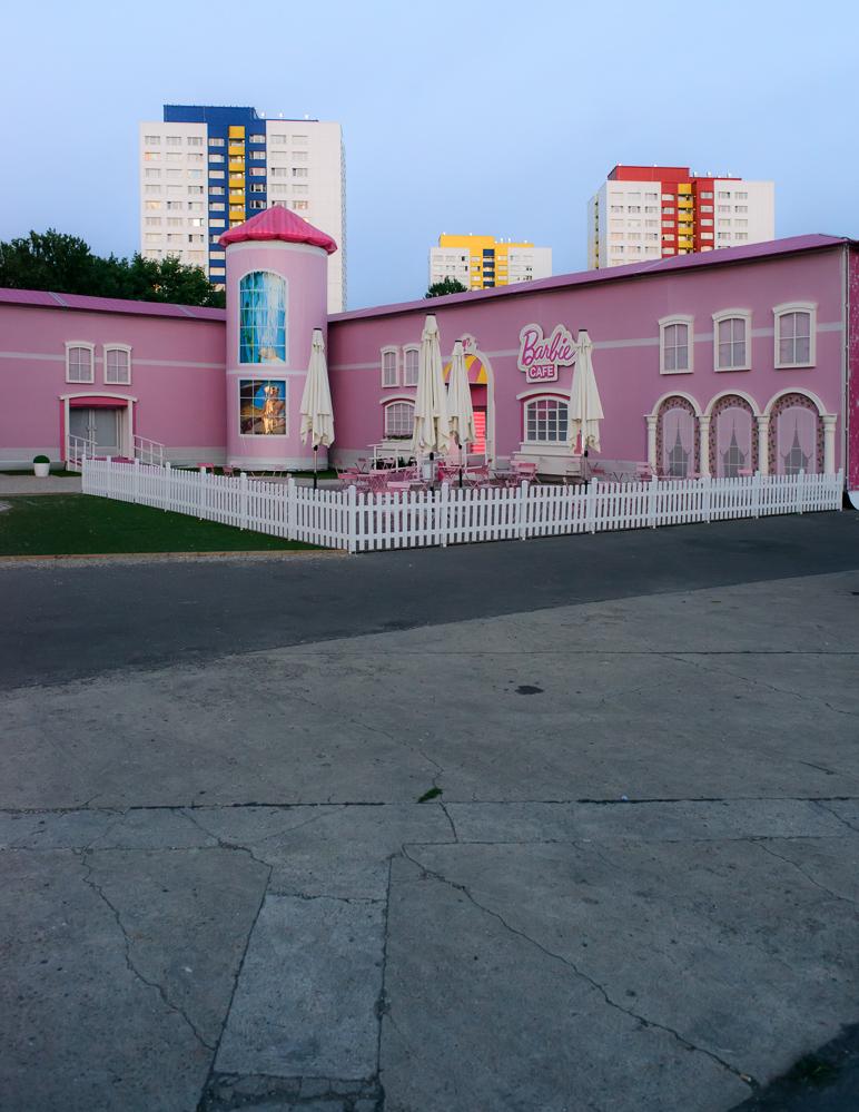 Berlin, August 2013: Barbie Dream House 1
