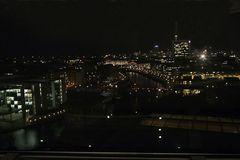 Berlin bei Nacht vom Reichstag gesehen