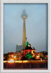 Berlin - bei Regen und Nebel