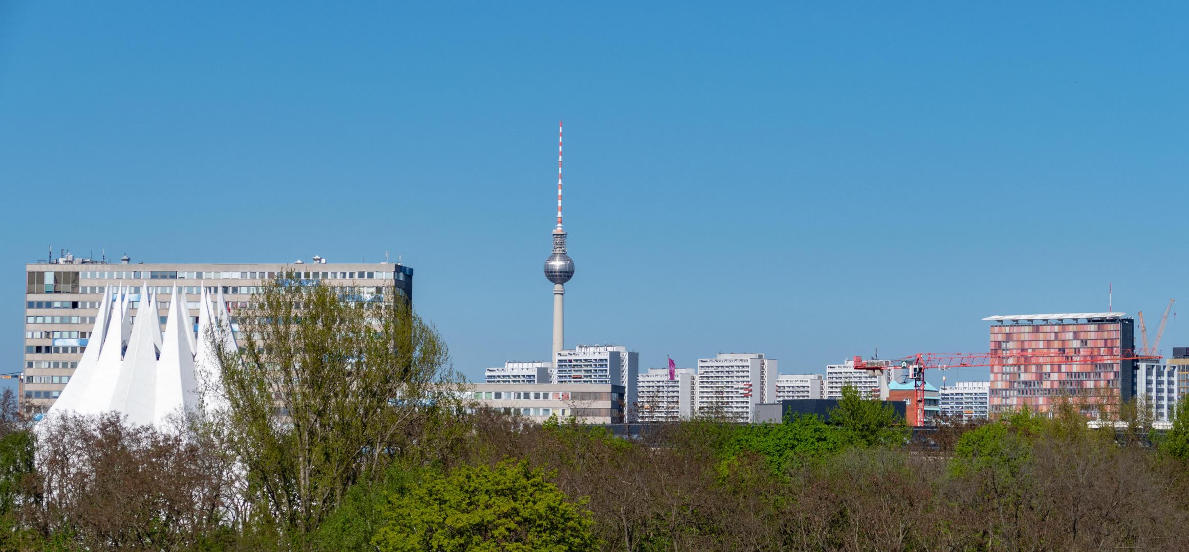 Berlin-Blick zum Fernsehturm