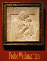 Berlin Bode-Museum, Donatello, Pazzi-Madonna, 1420