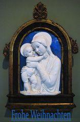 Berlin Bode-Museum, Madonna von Andrea della Robbia 1470