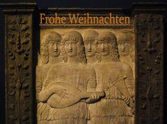 Berlin Bode-Museum, singende und musizierende Engel