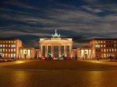 Berlin - Brandenburger Tor zur blauen Stunde
