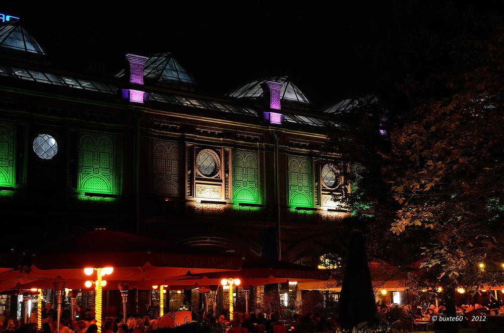 Berlin Festival of Lights 2012 - Bahnhof Hackesches Tor