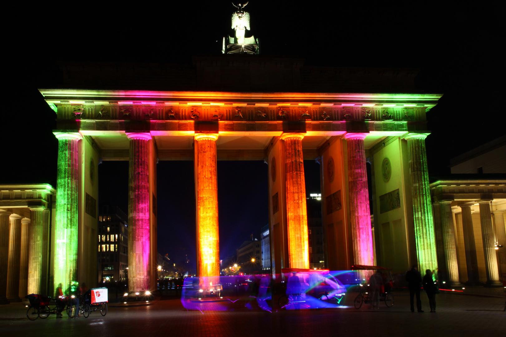 Berlin - Festival of Lights 2012 - Brandenburger Tor 2
